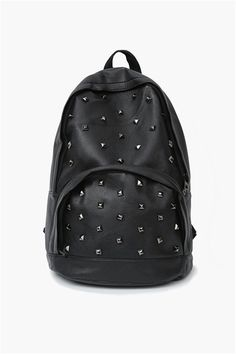 awesome back to school back pack. Spike Backpack in Black - $30.99