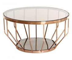 Bronze Modern Dohányzóasztal