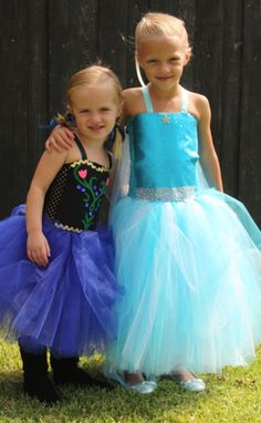 QUEEN ELSA Inspired Tutu Dress and Cape Frozen by CarouselKiddies