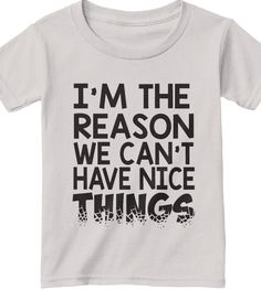 Funny Toddler Shirts | Click to Buy