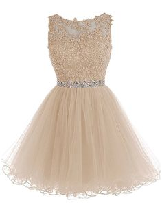 Shop a great selection of HHBY Women Short Beaded Homecoming Dresses Tulle Lace Applique Prom Party Gowns. Find new offer and Similar products for HHBY Women Short Beaded Homecoming Dresses Tulle Lace Applique Prom Party Gowns. Lace Homecoming Dresses, Beaded Prom Dress, Prom Party Dresses, Quinceanera Dresses, Tulle Dress, Sexy Dresses, Beautiful Dresses, Evening Dresses, Formal Dresses