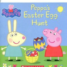 Booktopia has Peppa's Easter Egg Hunt (Peppa Pig, by Scholastic. Buy a discounted Paperback of Peppa's Easter Egg Hunt (Peppa Pig online from Australia's leading online bookstore. Easter Gift For Adults, Easter Crafts For Toddlers, Baby Crafts, Toddler Crafts, Happy Easter, Baby's First Easter Basket, Easter Baskets, Easter Books, Easter Eggs