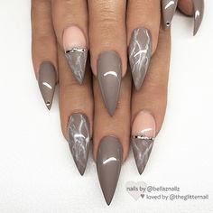 you should stay updated with latest nail art designs, nail colors, acrylic nails, coffin… - nailart Fancy Nails, Trendy Nails, Stylish Nails, Acrylic Nail Designs, Nail Art Designs, Unique Nail Designs, Marble Nail Designs, Marble Nail Art, Hair And Nails