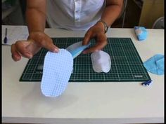 Sapatinho em tecido para menino, passo a passo . Com Arte de paninho