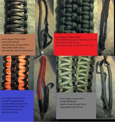 Paracord Rifle Slings