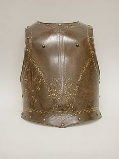 Cuirass (Breastplate and Backplate) | French | The Met