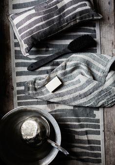 TWISTI sauna and spa textiles. Design Reeta Ek, woven in Finland by Lapuan Kankurit
