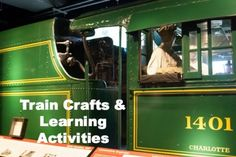 Are your kids train obsessed? Mine are, so we tackled these fun train crafts, activities, and books.