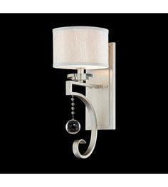 Savoy House Rosendal 1 Light Wall Sconce in Silver Sparkle 9-256-1-307 #lightingnewyork #lny #lighting