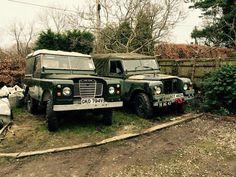 Land Rover Series Three 88 & 109 Land Rover Series 3, Land Rovers, Range Rover, Land Cruiser, Monster Trucks, Classic, Car, Style, Derby