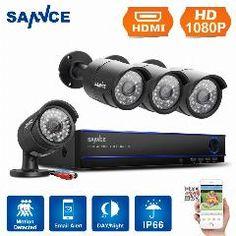 [ $32 OFF ] Newing Sannce 1080P Cctv Video Security 8Ch 3000Tvl Dvr System Kit 4Pcs 2.0Mp Ir Night Vision Camera 8 Channel Surveillance Kits