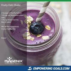 Amazing protein shake recipes by Isagenix. Learn how the amazing Isalean Shake can fuel you with 24 grams of indentured protein as well as needed vitamins and minerals to make a complete meal replacement shake that tastes amazing Protein Shakes, Protein Shake Recipes, Smoothie Recipes, Drink Recipes, Isagenix Snacks, Natural Protein Powder, Magic Bullet Recipes, Weight Watcher Smoothies, Healthy Snacks