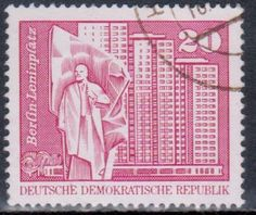 Germany - Vladimir Lenin on stamps theme.