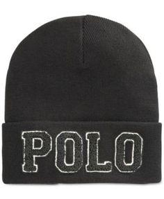 adf27834fbc Polo Ralph Lauren Chenille Varsity Beanie Men - Hats