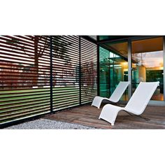 Serralunga Lazy Sun Lounger #outdoor #indoor #designerfurniture #serralunga #contemporary #interiordesign #home #furniture