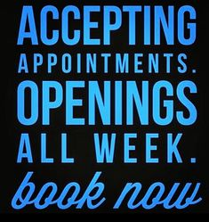 Book your next massage today!