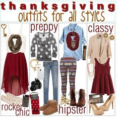 495d58bfdcaaa Thanksgiving outfits for  A L L S T Y L E S !
