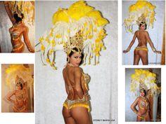 Samba costume.