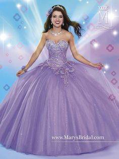 Mary's style ID 4653 Purple Dress Accessories, 15 Dresses, Quince Dresses, Sweet 16 Dresses, Beautiful Prom Dresses, Pretty Dresses, Bridal Dresses, Fashion Dresses, 15 Añeras