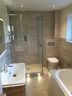 Couple Wanted A Modern Bathroom To Have Now Retired From Work