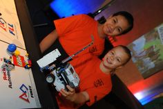 Teams must demonstrate team working and friendly competition as part of the FLL core values http://firstlegoleague.theiet.org/