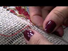 Mulher.com 30/07/2014 - Toalha de Retalhos na Juta por Claudia Niero - Parte 2 - YouTube