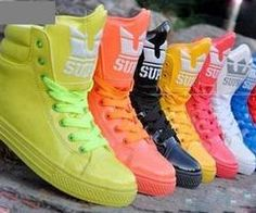 everything in this world Crazy Shoes, Me Too Shoes, Men's Shoes, Shoe Boots, Supra Sneakers, Supra Shoes, Supra Footwear, Neon Sneakers, Nike Free Shoes