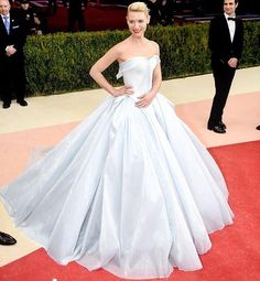 Claire Danes dress by Zac Posen (Before the lights went off)