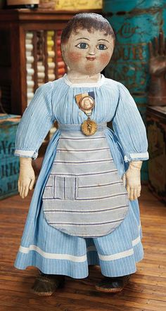 Theriault's - Wonderful Large American Cloth Doll