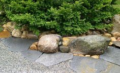 Barre . stone . irregular . peastone .