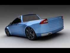 V70 Pickup concept. I like the recognizable tail light carry over.