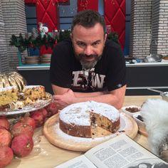 Greek Sweets, Greek Desserts, Greek Recipes, Sweets Recipes, Baking Recipes, Cake Recipes, Baking Blogs, Vasilopita Cake, Greek Cake