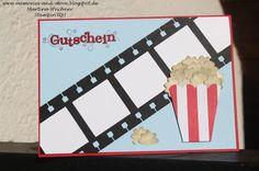 10 Kino Gutschein Basteln Ideen Gutschein Basteln Gutscheine Kinogutschein