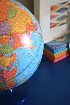 Doug needs a globe.