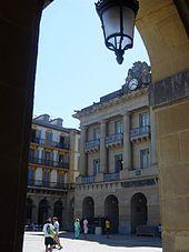 Guipuzcoa San Sebastián -Plaza de la Constitución, antiguo coso taurino.
