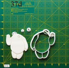 Big Hero 6 Cookie Cutter.The cookie cutters let you make beautiful cookies EASY. Please follow me and REPIN the cookie cutters on my board ,also you can click the LIKE button, or share it to you friends,thank you very much.Best wishes for you !