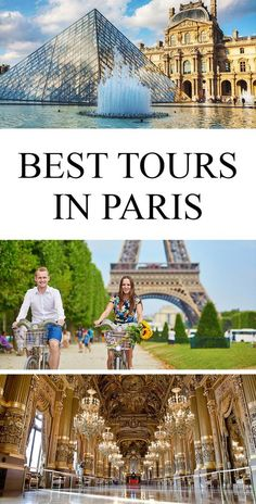 Travel guide to the best tours in Paris, France, including some must things to do in Paris.