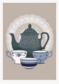 Imprimolandia: Es la hora del té