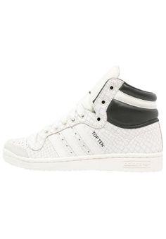 TOP TEN  - Sneaker high - offwhite/core black