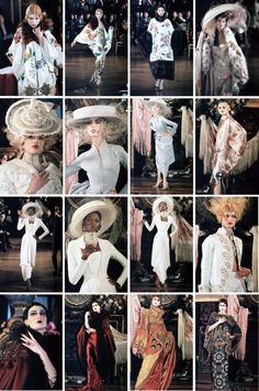 SpringSummer Christian Dior by John Galliano 1998 inppired by Luisa Casati