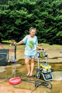 Tips for Pressure Washing Concrete - Bower Power