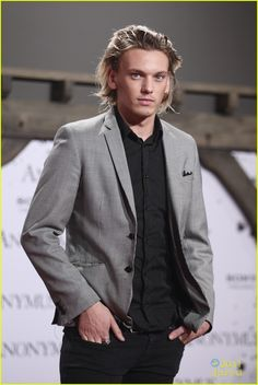Jamie Campbell Bower. I just really love him and his hair