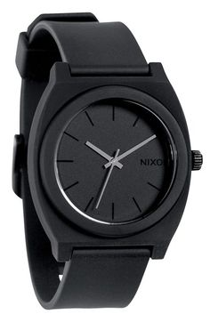 Nixon 'The Time Teller' Watch at Nordstrom.com. Numberless, minimalist dial enhances the modern styling of a lightweight watch crafted from durable polycarbonate and finished with a smooth polyurethane strap.