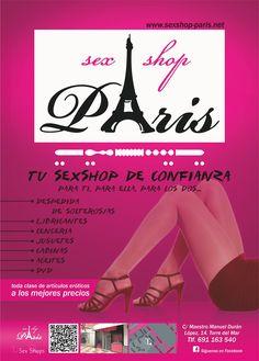 SexShop Paris en Torre del Mar. Para ti, para ella, para los dos..