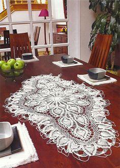 Crochet: Obrusy