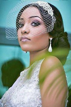 18 Black Women Wedding Hairstyles ❤ See more: http://www.weddingforward.com/black-women-wedding-hairstyles/ #weddings #hairstyles