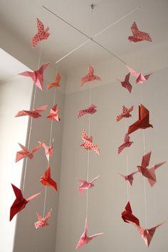 Isyyspakkaus / DIY: Origami mobile