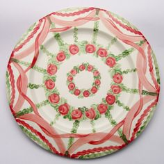 Pablo Platzteller Plates, Tableware, Red, Green, Dishes, Licence Plates, Dinnerware, Griddles