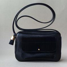 Black nappa / black chevreau #atelierstloup #customateliersaintloup