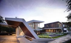 Impressive Dream Home in Singapore by a-dlab